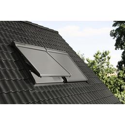 VELUX Solar-Rollladen »SSL FK08 0000S«, dunkelgrau, für VELUX Dachfenster, inkl. Funk-Wandschalter