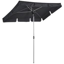 Sonnenschirm, BxHxL: 180 x 232 x 120 cm, abknickbar, Sonnenschutzfaktor: 50+