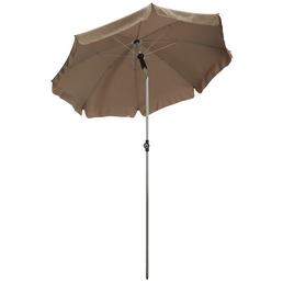 Sonnenschirm, Format: 150 x 225 (D x H) cm, abknickbar, Sonnenschutzfaktor: 50+