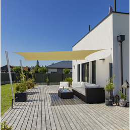 WINDHAGER Sonnensegel »CAPRI«, rechteckig, 400 x 500 cm