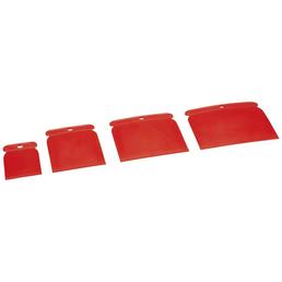 AUTO-K Spachtelklinge, für Lack, Kunststoff, Metall, Chrom, Holz etc., rot