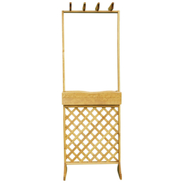PROMADINO Spalierkasten, BxH: 70 cm x 206 cm, honig