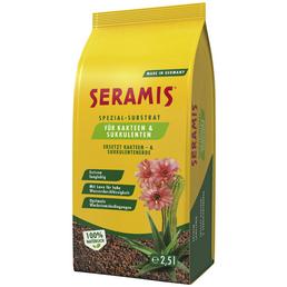 SERAMIS Spezial-Substrat, Spezial-Substrat, Kakteen & Sukkulenten, Braun | Orange, 2,5 l