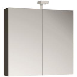 ALLIBERT Spiegelschrank, 2-türig, LED, B x H: 80 x 70 cm