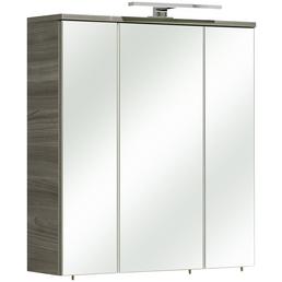 PELIPAL Spiegelschrank, 3-türig, LED, B x H: 65 x 72 cm