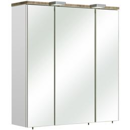 PELIPAL Spiegelschrank, 3-türig, LED, BxH: 65 x 70 cm