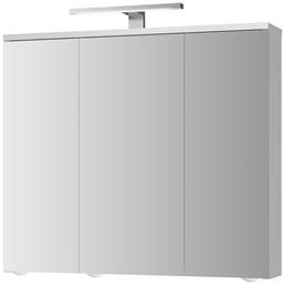 JOKEY Spiegelschrank, 3-türig, LED, BxH: 72,5 x 68,5 cm
