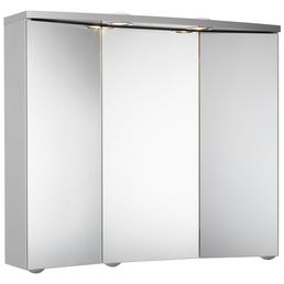 JOKEY Spiegelschrank, 3-türig, LED, BxH: 75 x 65 cm
