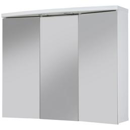 SIEPER Spiegelschrank »Ancona«, 3-türig, LED, BxH: 82,5 x 69 cm