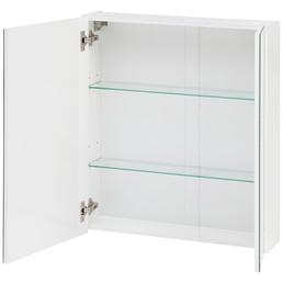 SCHILDMEYER Spiegelschrank »Basic«, 2-türig, B x H: 60 x 71 cm