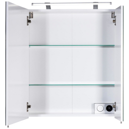 SCHILDMEYER Spiegelschrank »Dorina«, 2-türig, LED, B x H: 60 x 71 cm
