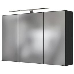 HELD MÖBEL Spiegelschrank »Florida«, 3-türig, LED, B x H: 100 x 66 cm