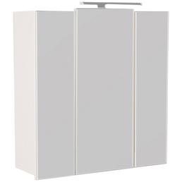 POSSEIK Spiegelschrank »HOMELINE«, 3-türig, LED, B x H: 68 x 68 cm