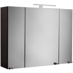POSSEIK Spiegelschrank »HOMELINE«, 3-türig, LED, BxH: 90 x 62 cm