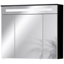FACKELMANN Spiegelschrank »Kara«, 3-türig, LED, BxH: 80 x 70 cm