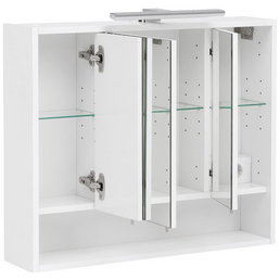 SCHULTE Spiegelschrank »Kimi«, 3-türig, LED, BxH: 70 x 60,5 cm