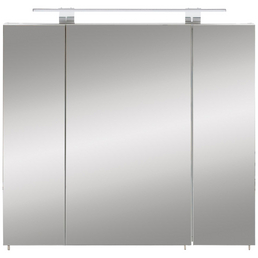 SCHILDMEYER Spiegelschrank »Luke«, 3-türig, LED, B x H: 80 x 71 cm
