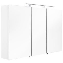 POSSEIK Spiegelschrank »MULTI USE«, 3-türig, LED, BxH: 110 x 68 cm
