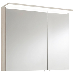 OPTIFIT Spiegelschrank »OPTIbasic 4030«, 2-türig, LED, BxH: 80 x 71 cm