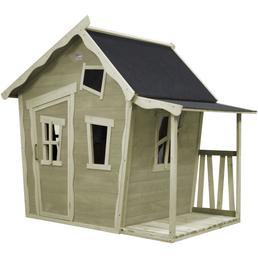 EXIT Toys Spielhaus »Crooky Spielhäuser«, BxHxT: 145 x 171 x 208 cm, grau/beige