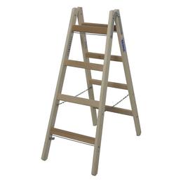 KRAUSE Sprossen-Doppelleiter »STABILO«, 8 Sprossen, Holz