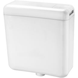 CORNAT Spülkasten, BxHxT: 384 x 400 x 136 mm, weiß