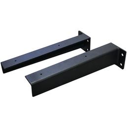 SPA AMBIENTE Stahlkonsolen »für Waschtischplatten«, B x H x T: 7,5 x 7,5 x 28 cm