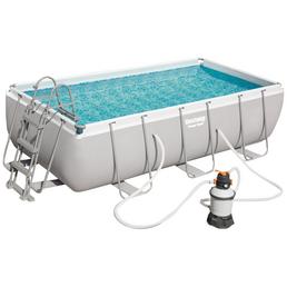 BESTWAY Stahlrahmen-Pool »Power Steel«,  rechteckig, B x L x H: 201 x 404 x 100 cm