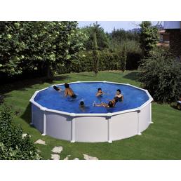 GRE Stahlwand-Pool »Aufstellpool «, rund, Ø x H: 550  x 132 cm