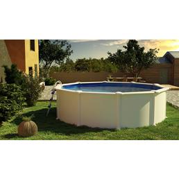 GRE Stahlwand-Pool,  rund, Ø x H: 460  x 120 cm