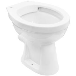 CORNAT Stand WC »Clean«, Tiefspüler, weiß, spülrandlos