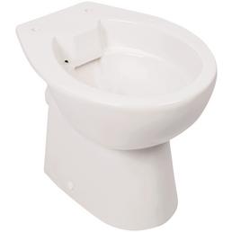 aquaSu® Stand WC »mainstream«, Tiefspüler, weiß, spülrandlos