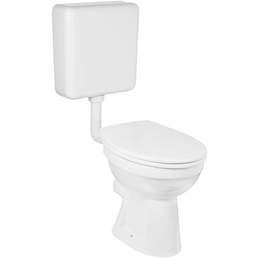 GO/ON! Stand-WC-Set, GOON, LxBxH: 49 x 41 x ca. 50 cm, Kunststoff   Porzellan   Duroplast