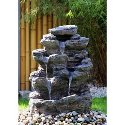 SILEX Standbrunnen, grau, inkl. Pumpe