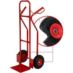 pro-bau-tec® Stapelkarre, max. 200 kg, Stahl, rot