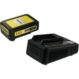 KÄRCHER Starter Kit Battery Power, 2,5 Ah, 18 V, Lithium-Ionen, Schwarz | Gelb