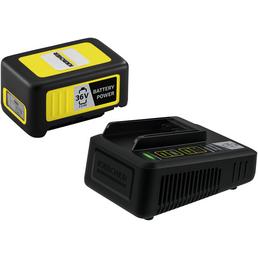 KÄRCHER Starter Kit Battery Power, 2,5 Ah, 36 V, Lithium-Ionen, Schwarz | Gelb