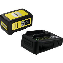 KÄRCHER Starter Kit Battery Power, 5 Ah, 18 V, Lithium-Ionen, Schwarz | Gelb