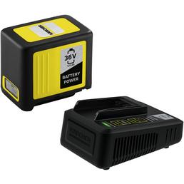 KÄRCHER Starter Kit Battery Power, 5 Ah, 36 V, Lithium-Ionen, Schwarz | Gelb