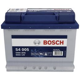 BOSCH Starterbatterie, BOSCH silver, 12V 60 Ah A540 S4 KSN S4 005