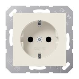 JUNG Steckdose, AS500, 1-fach, 250 V, 16 A, Weiß
