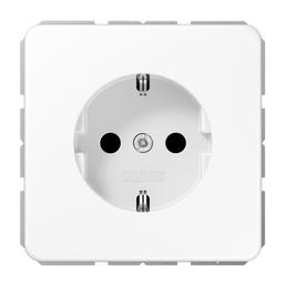 JUNG Steckdose, CD, 1-fach, 150 V, 16 A, Weiß