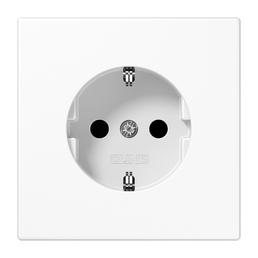 JUNG Steckdose, LS 990, 1-fach, 250 V, 16 A, Weiß
