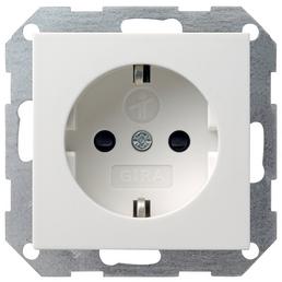 GIRA Steckdose, System 55, 1-fach, 250 V, 16 A, Weiß