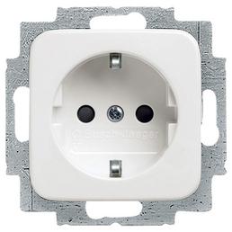 BUSCH-JAEGER Steckdosen-Einsatz, Reflex SI, LxBxH: 7 x 7 x 4 cm, Weiß
