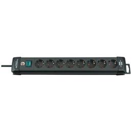 Brennenstuhl® Steckdosenleiste »Premium Line 1951180100«, 8-fach, Kabellänge: 3 m
