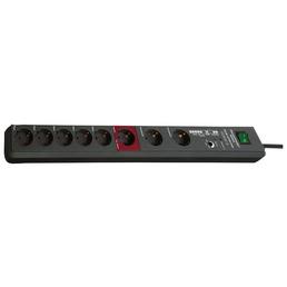 Brennenstuhl® Steckdosenleiste »Secure Tec«, 8-fach, Kabellänge: 3 m, IP20