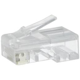 SCHWAIGER Stecker, RJ45-Stecker, Transparent, Kunststoff