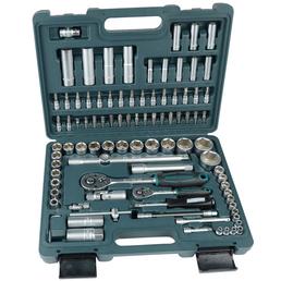 BRUEDER MANNESMANN WERKZEUGE Steckschlüsselkasten, Schlüsselgröße: 4 – 32 mm