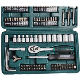 BRUEDER MANNESMANN WERKZEUGE Steckschlüsselsatz 130-teilig, Schlüsselgröße: 4 - 14 mm